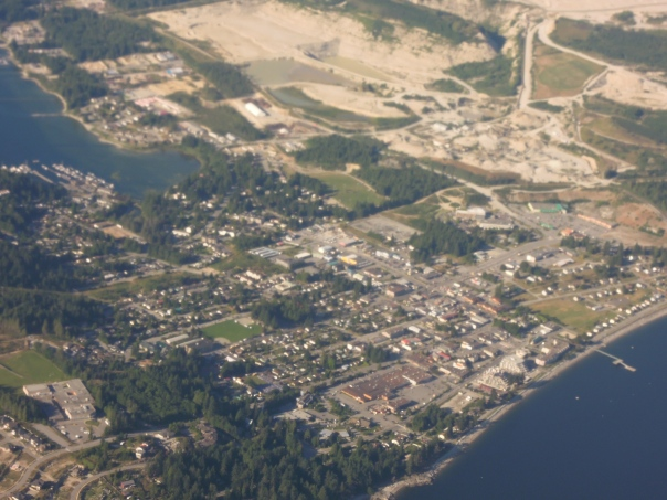 Sechelt and the Lehigh Gravel Pit