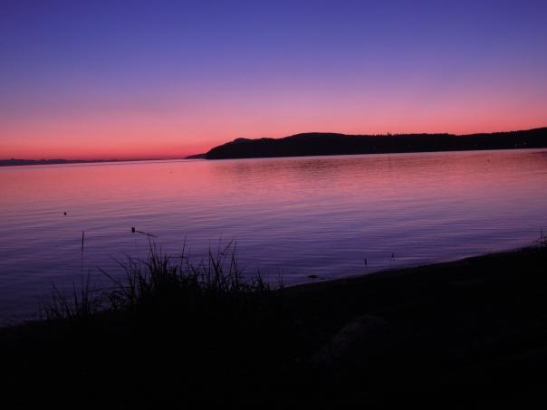 Shelter Sunset