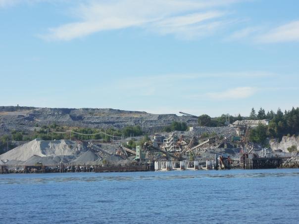 Lafarge Texada Quarry Docks